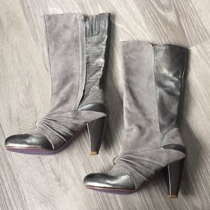 Poetic License Shoes - NWOT Poetic License Leather Boots 9